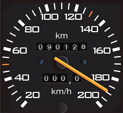 Checking car mileage before buying a used car