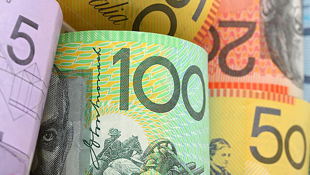 Australian dollars representing the importance budget has on loan repayments for machinery and equipment finance