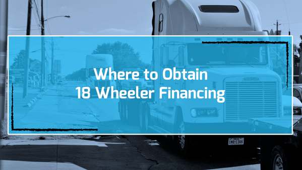 Commercial truck financing from online lenders